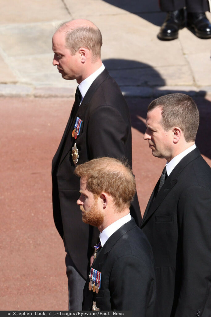Harry, William – pogrzeb księcia Filipa