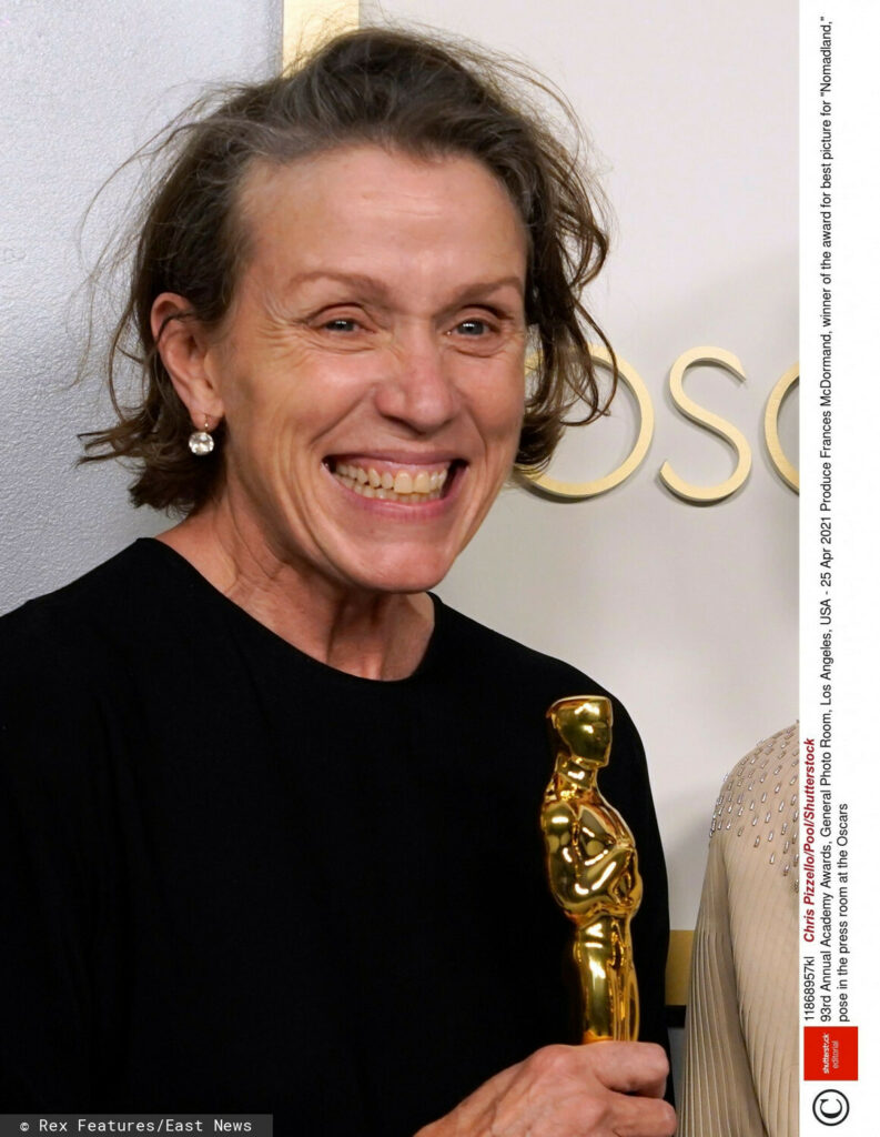 Frances McDormand - Oscary 2021