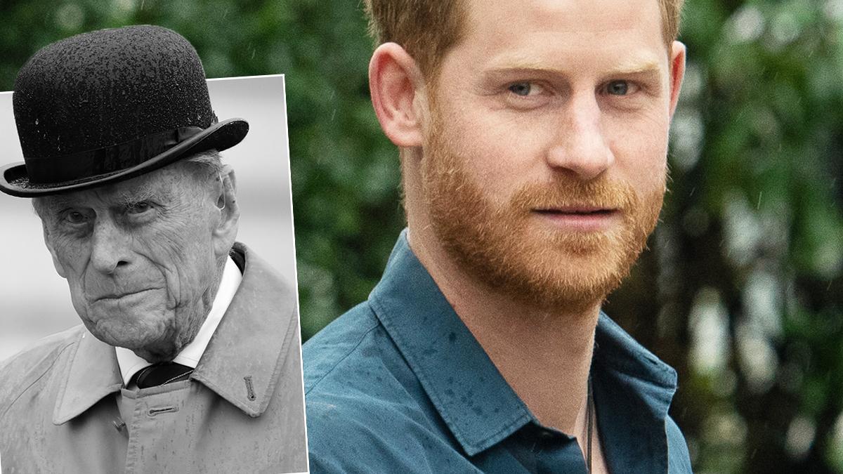 Książę Harry i książę Filip