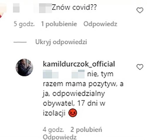 Kamil Durczok - komentarz