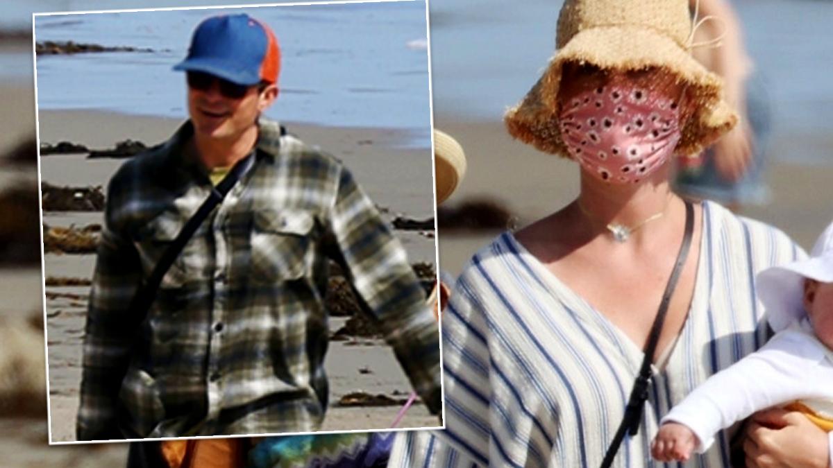 Katy Perry z rodziną na plaży