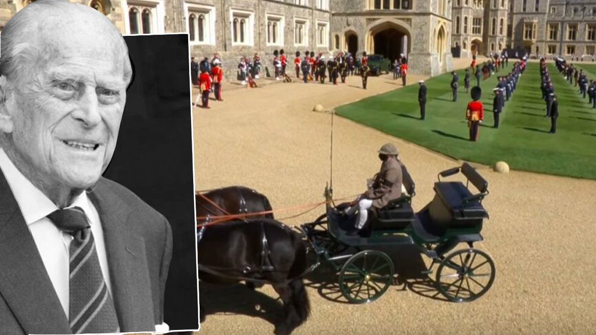 Książę Filip - pogrzeb