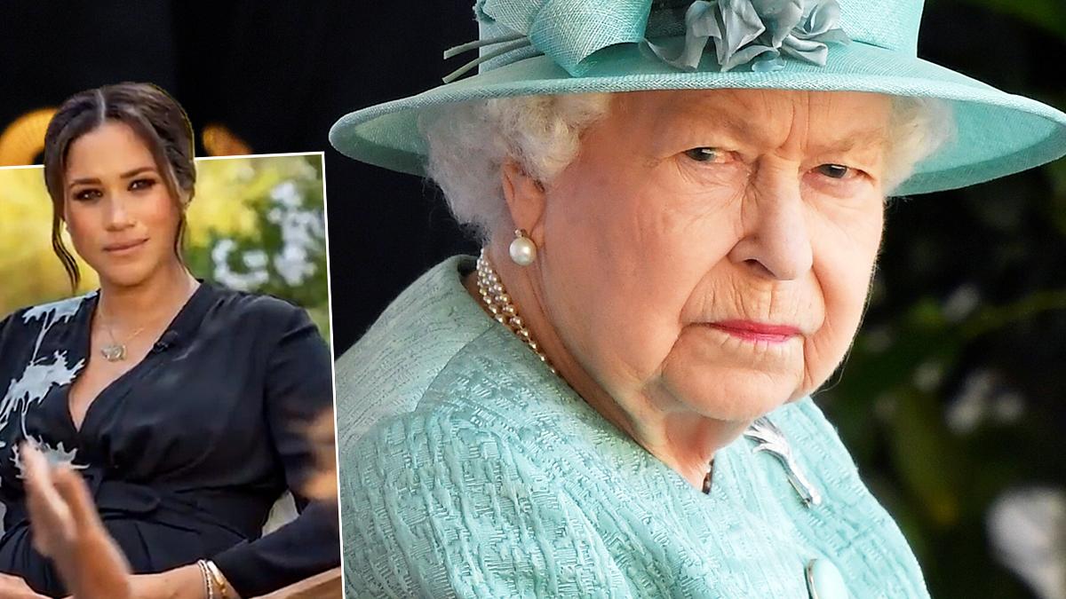 Meghan Markle i królowa Elżbieta II