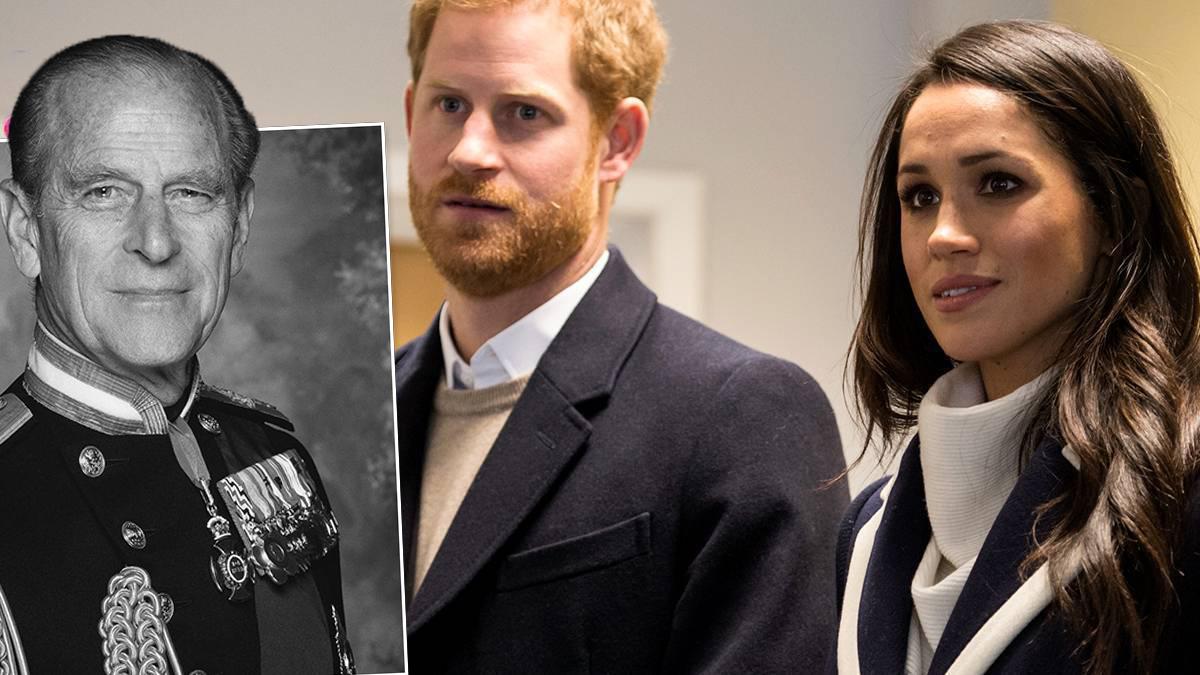 Meghan i Harry oddają hołd księciu Filipowi