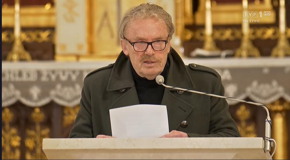 Daniel Olbrychski – pogrzeb Krzysztofa Krawczyka
