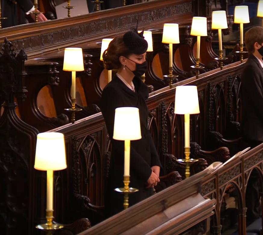 Księżna Kate – pogrzeb księcia Filipa