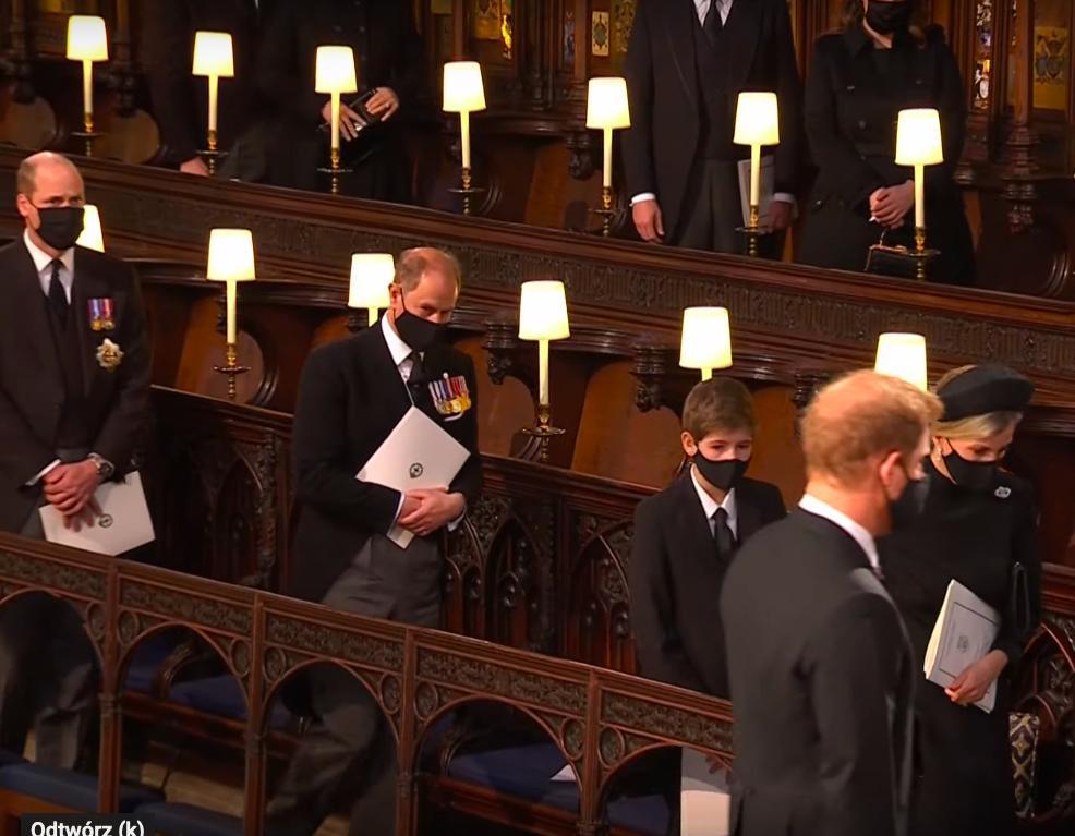 Książę William, książę Harry – pogrzeb księcia Filipa