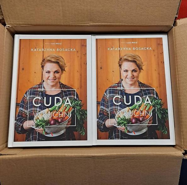 Cuda w kuchni – książka Katarzyny Bosackiej