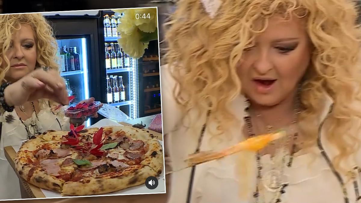 Magda Gessler zachwyca się pizzą