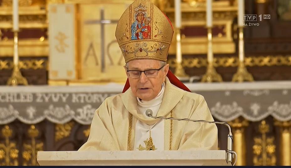Biskup Antoni Długosz wygłosił poruszające kazanie - pogrzeb Krzysztofa Krawczyka