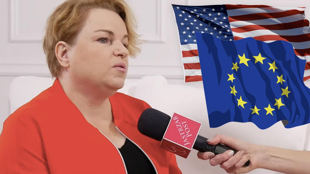 Katarzyna Bosacka o różnicach między Amerykanami a Europejczykami