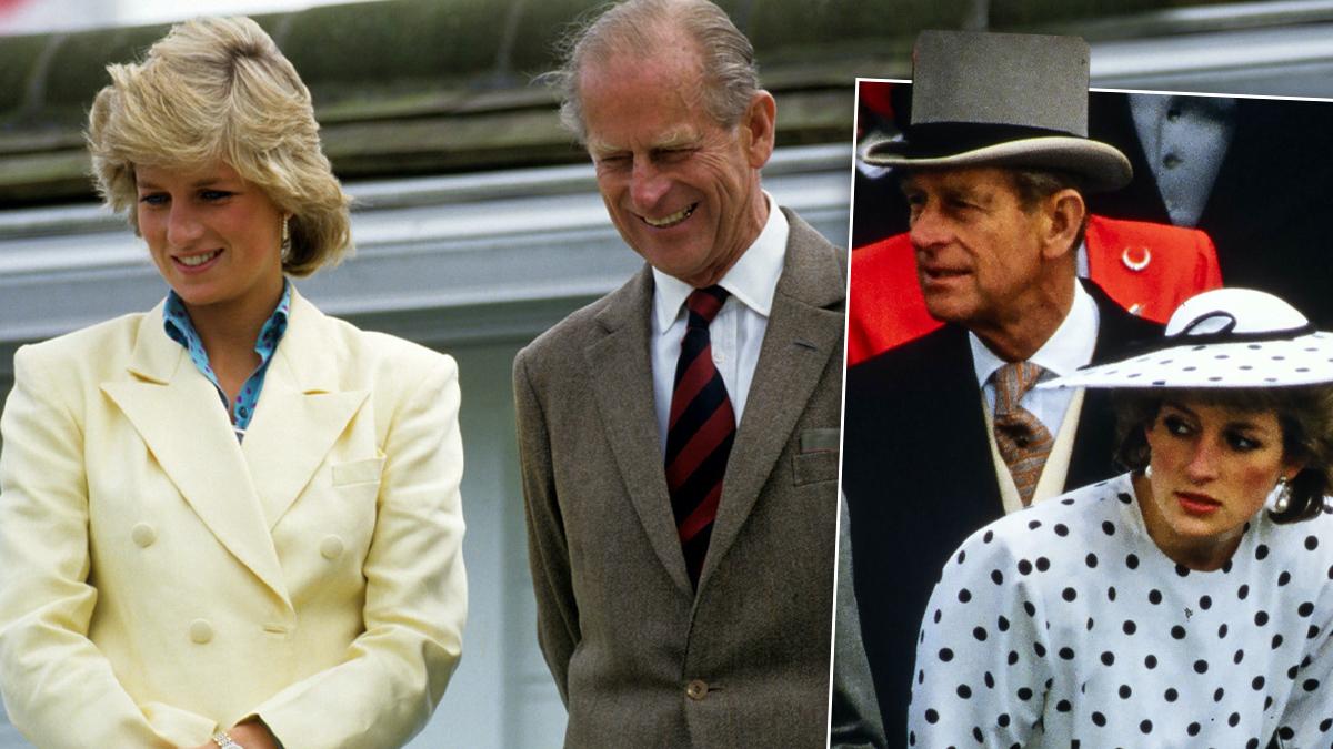 Księżna Diana i książę Filip