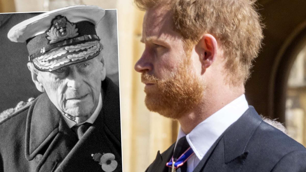Książę Filip, książę Harry