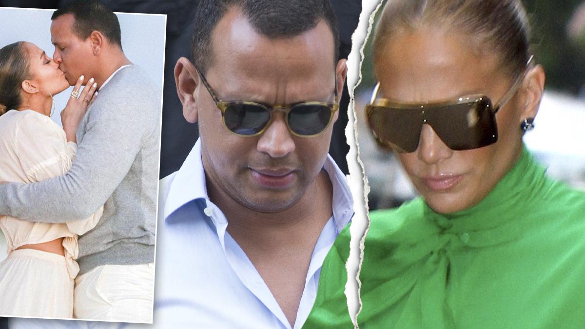Jennifer Lopez i Alex Rodriguez rozstali się