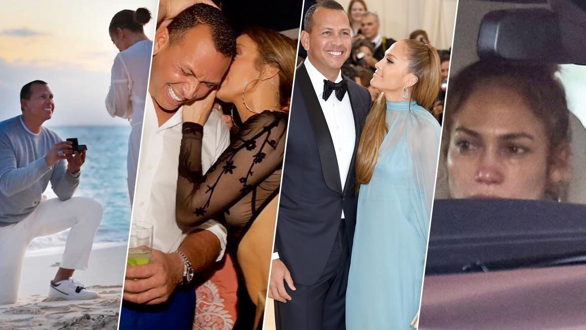 Jennifer Lopez i Alex Rodriguez – historia związku