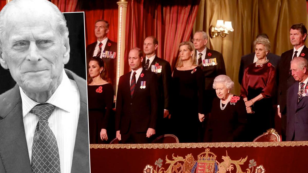 Książę Filip, rodzina królewska
