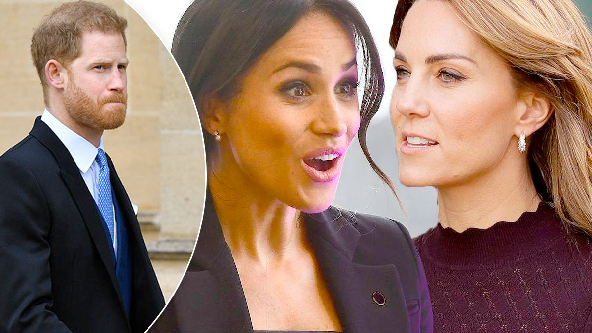 Meghan, Kate, Harry