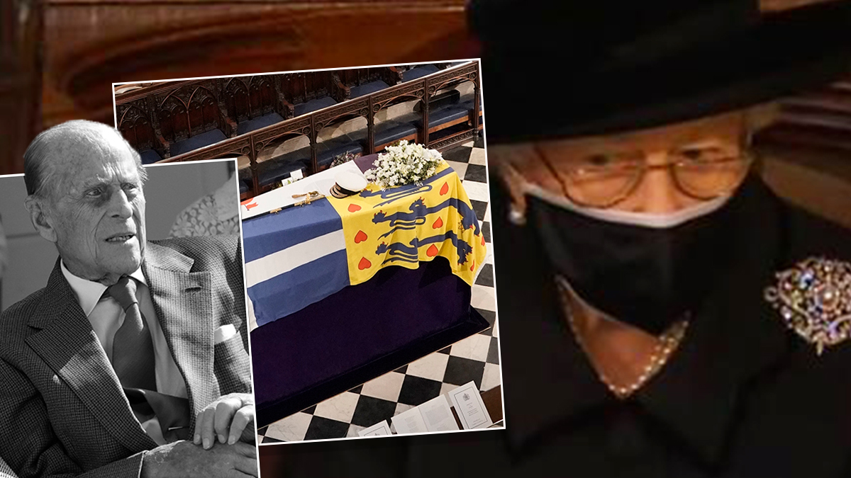 Pogrzeb księcia Filipa i królowa Elżbieta II