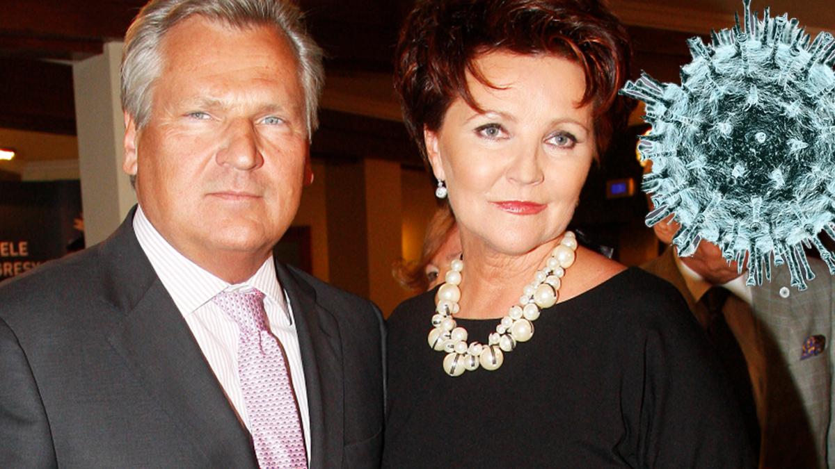 Aleksander Kwaśniewski i Jolanta Kwaśniewska