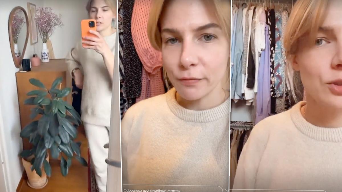 Marta Wierzbicka pokazała garderobę
