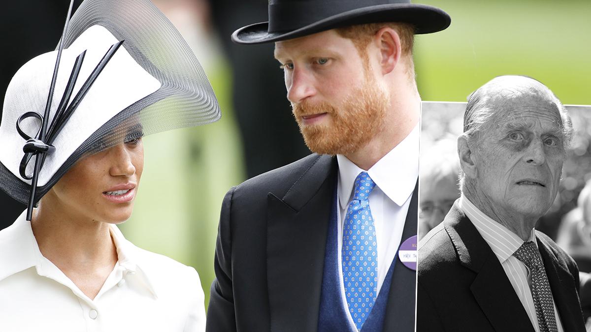 Książę Harry, Meghan Markle i książę Filip