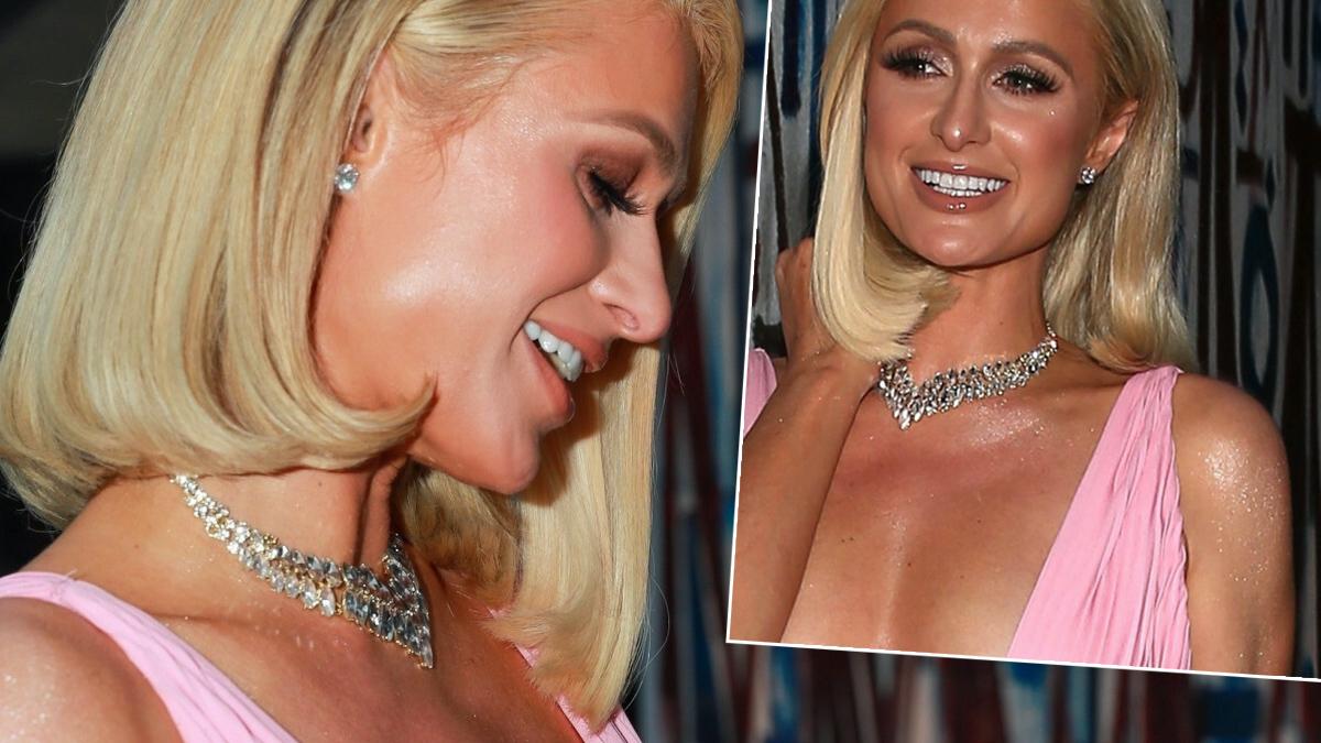 Paris Hilton na imprezie przed Oscarami 2021