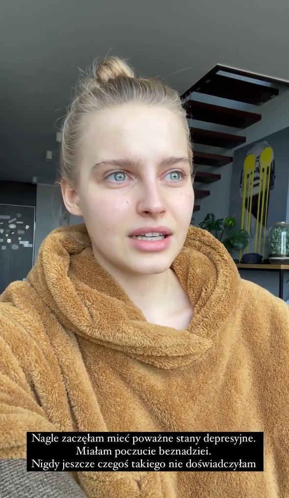 Karolina Pisarek o zakażeniu koronawirusem