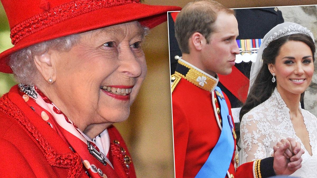 Królowa Elżbieta II, Kate i William