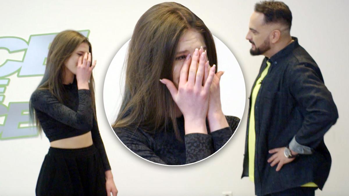 Roksana Węgiel płacze w Dance Dance Dance