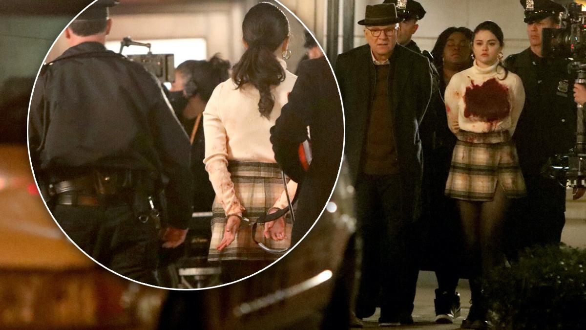 Selena Gomez wpadła w ręce policji