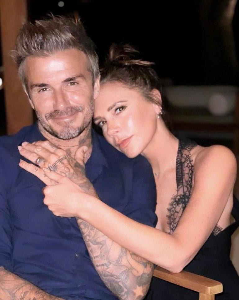 David Beckham i Victoria Beckham