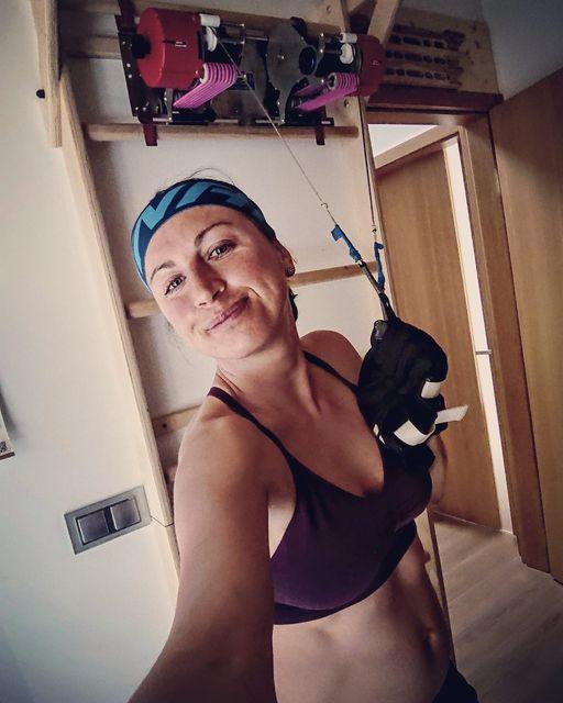 Justyna Kowalczyk trenuje w ciąży