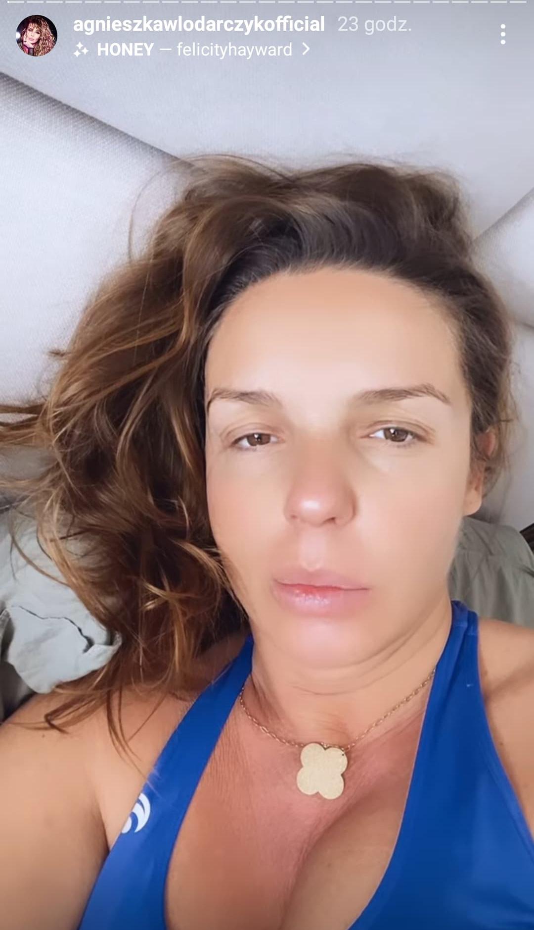 Agnieszka Włodarczyk spakowała się na porodówkę
