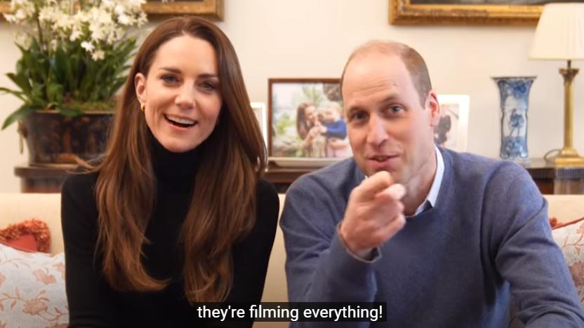Kate i William założyli kanał na YouTubie