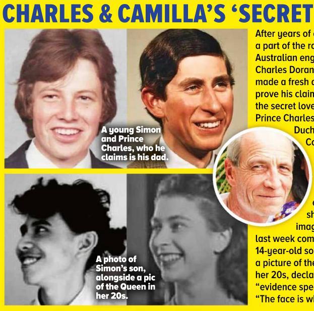 """Zdjęcie (1) Niebywałe! Tabloid twierdzi, że dotarł do """"ukrywanego syna"""" Karola i Camilli. Simon wygląda niemal identycznie"""