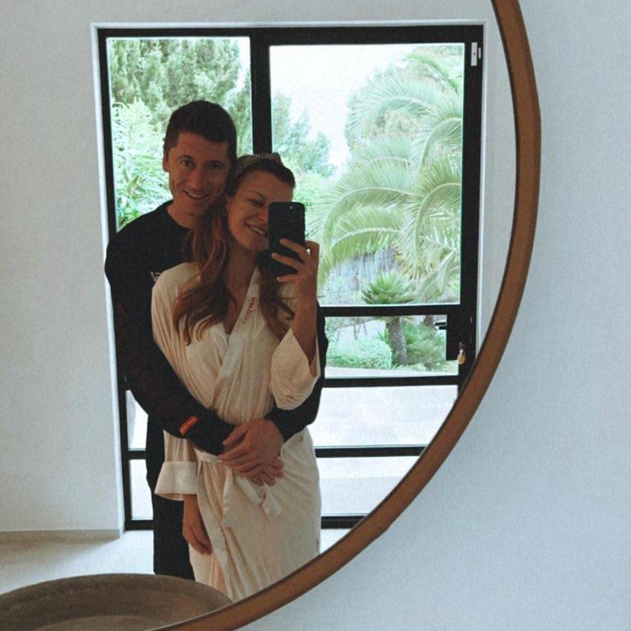 Anna i Robert Lewandowscy - Majówka 2021