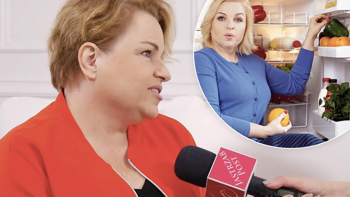 Katarzyna Bosacka o zdrowej diecie