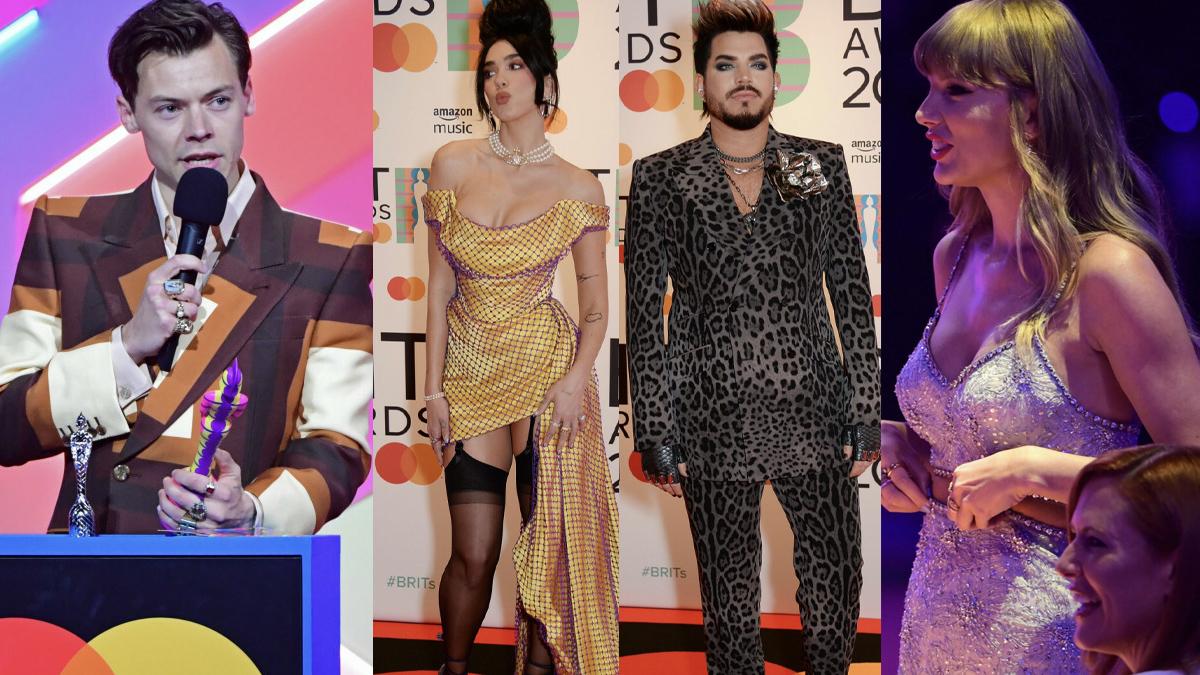 Gwiazdy na Brit Awards 2021