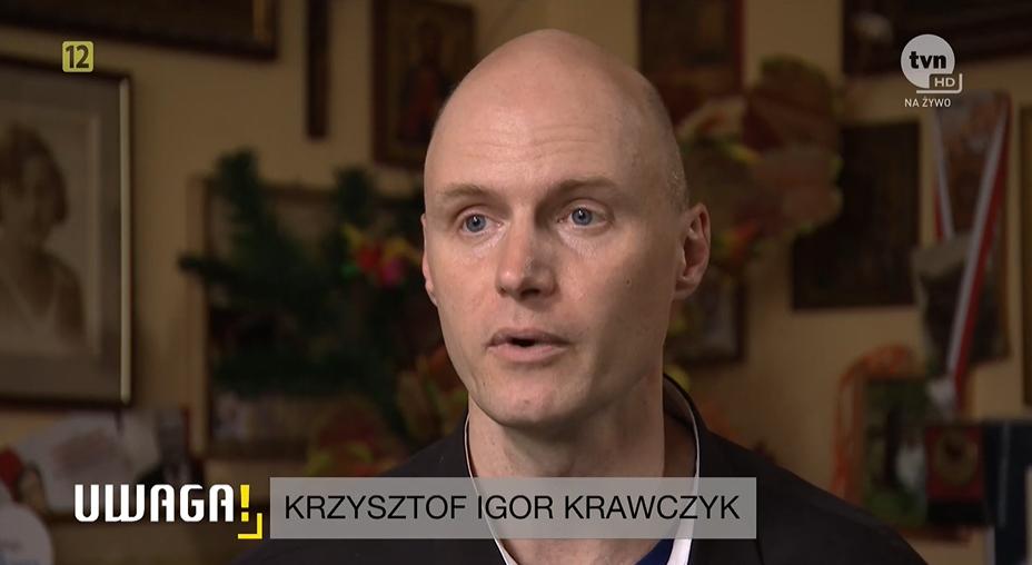 Krzysztof Krawczyk junior w reportażu Uwagi!