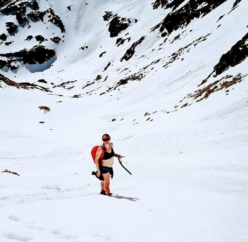 Justyna Kowalczyk w górach