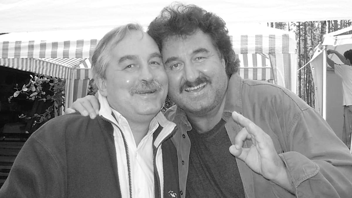 Andrzej Krawczyk i Krzysztof Krawczyk