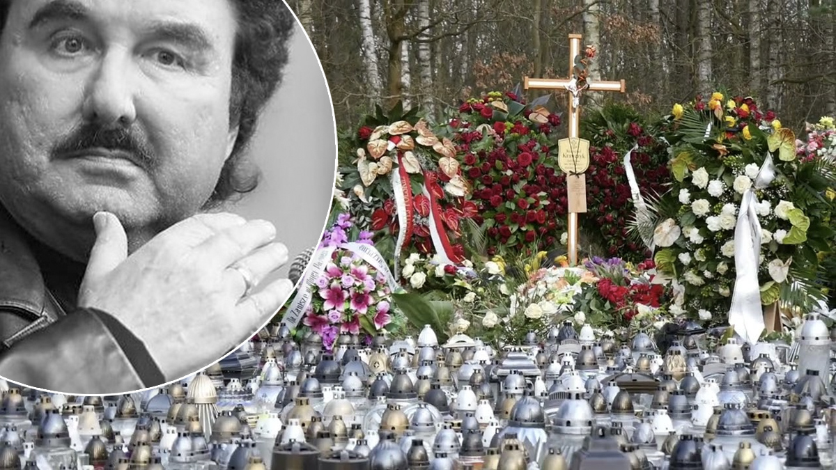 Grób Krzysztofa Krawczyka miesiąc po śmierci