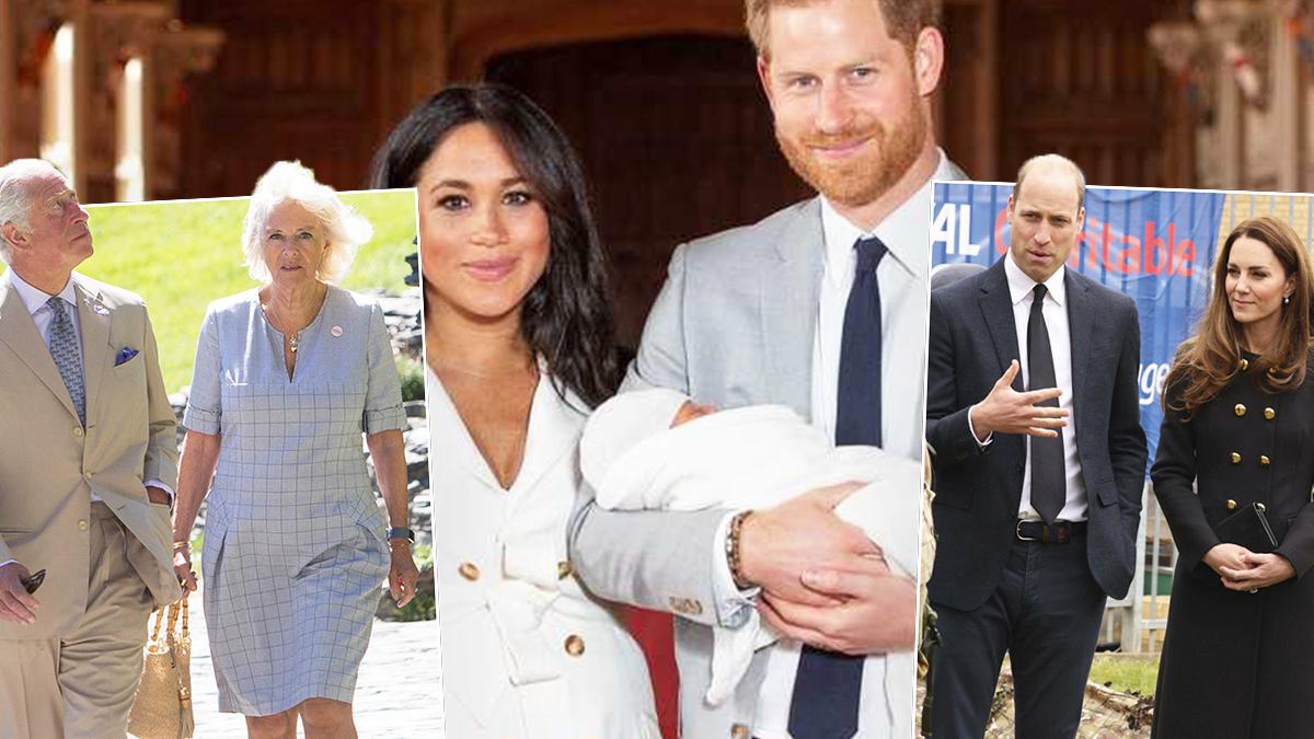 Meghan Markle, książę Harry i Archie