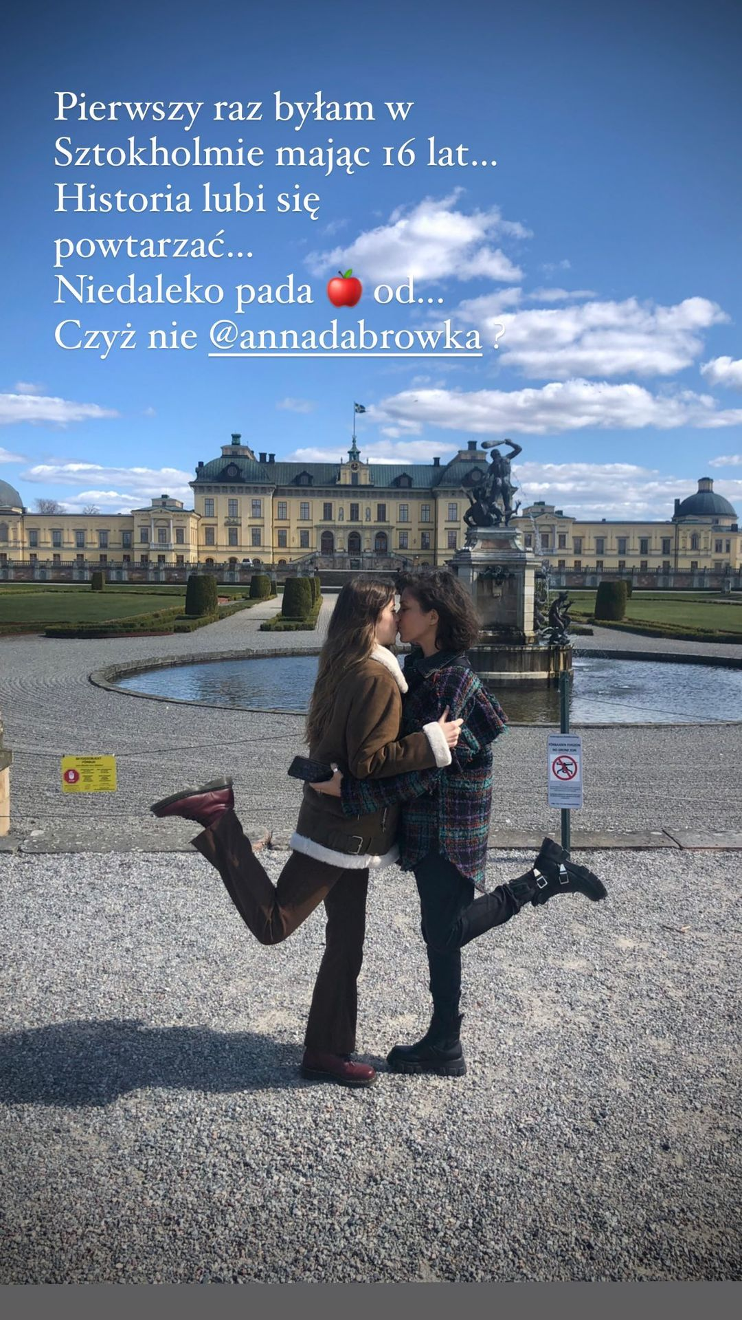 Natalia Kukulska i Ania Dąbrówka w Sztokholmie