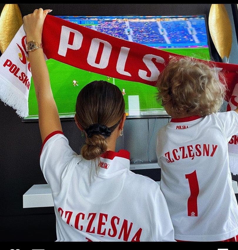 Marina i Liam wspierają Szczęsnego na Euro 2020