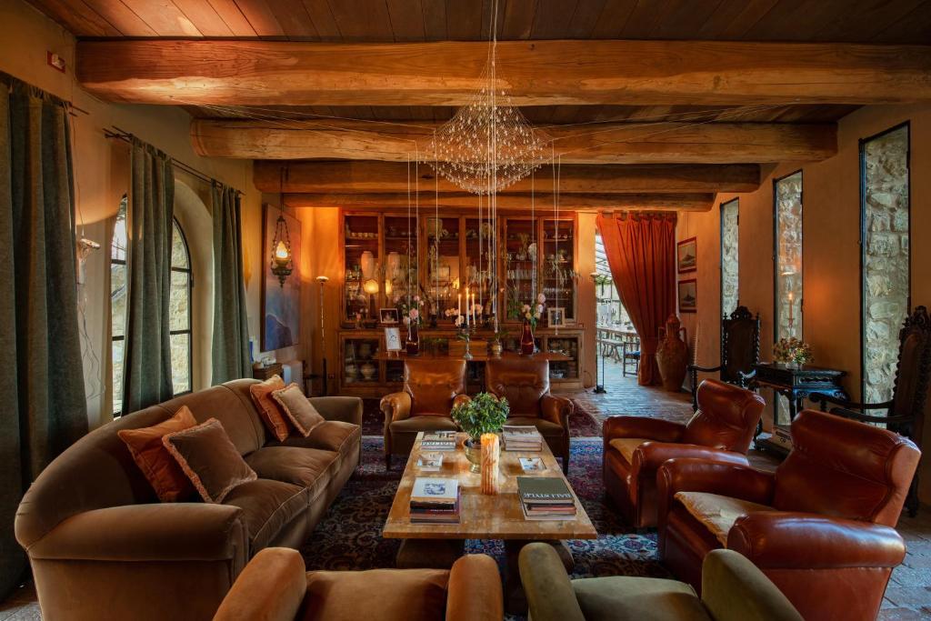Castello Di Vicarello, hotel, w którym wypoczywała Kasia Tusk, fot. booking.com