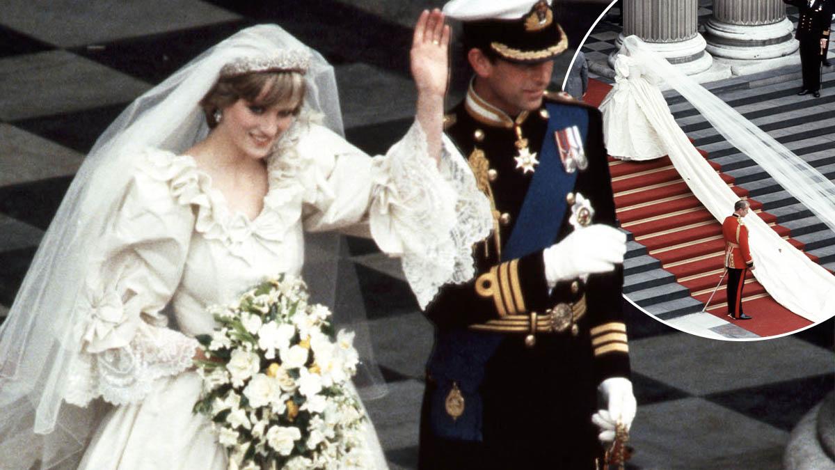Jak obecnie wygląda suknia ślubna księżnej Diany?
