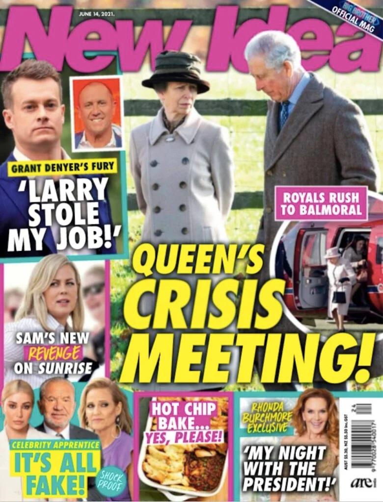 Kryzysowe spotkanie rodziny królewskiej w Balmoral - co ujawnia New Idea?