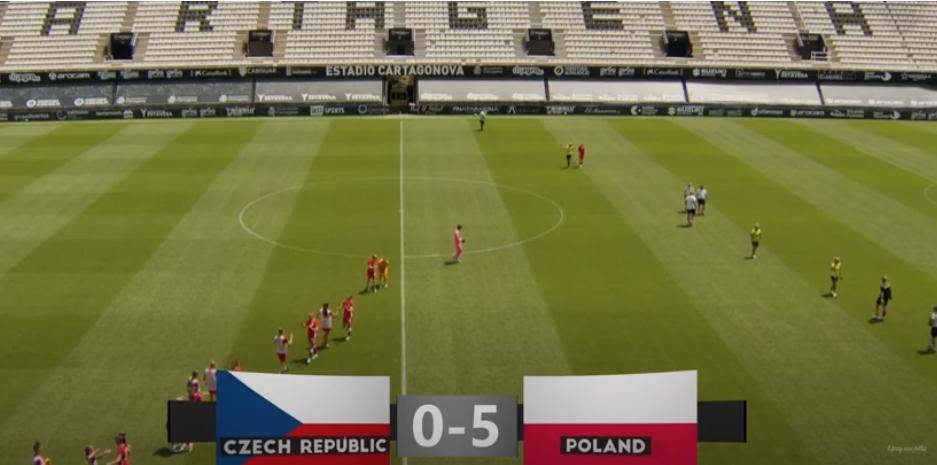 Polska - Czechy - wygrana reprezentacji kobiet