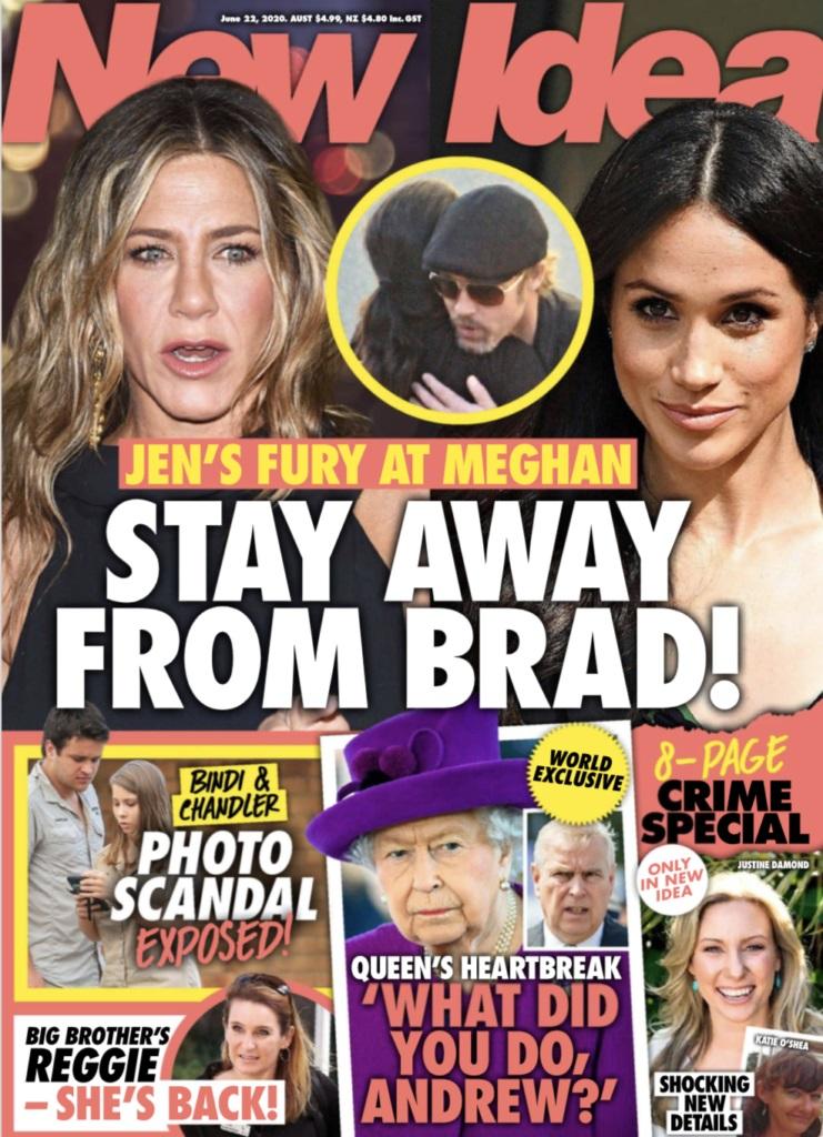 Meghan podpadła Jennifer Aniston